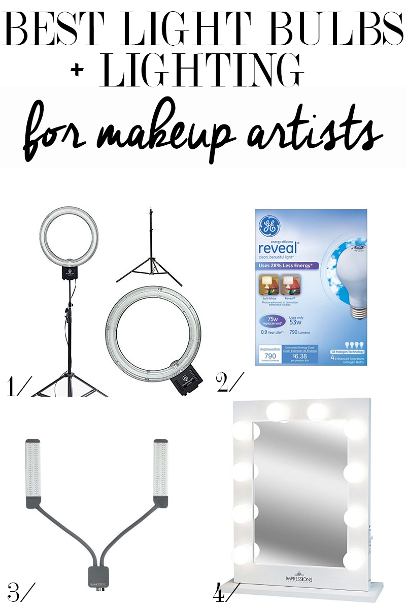 Best Light Bulbs for Makeup Artists  Citizens of Beauty