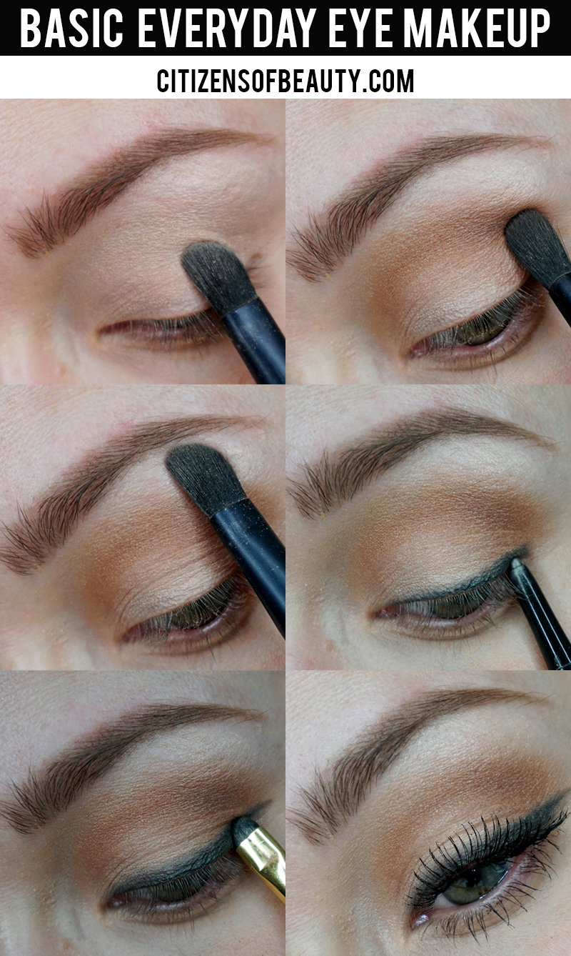 Basic Everyday Eye Makeup Citizens Of Beauty