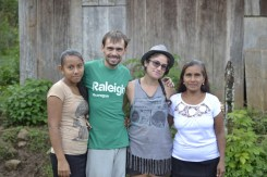 Yaritza, Me, Laura (fellow Team Leader) and Maria Mercedes