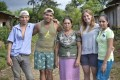 Will, Gerald (volunteer), Margaherita, Emily (volunteer) & Rosa