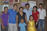 Darwin (volunteer), Ben (volunteer) and their big family