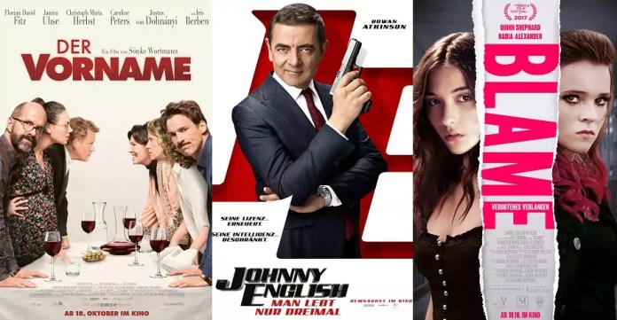 ©Constantin Film ©Universal Pictures ©Alpha Centauri Studios Der Vorname Johnny English 3 Blame Kino Trailer Time
