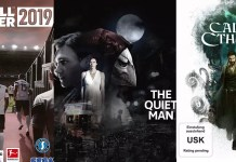 ©Square Enix ©Focus Home Interaction ©SEGA Koch The Quiet Man Call of Cthulhu Football Manager 2019 Games Trailer Time
