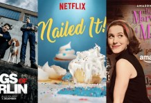 ©Netflix ©Amazon Dogs of Berlin Das Gelbe vom Ei The Marvelous Mrs Maisel