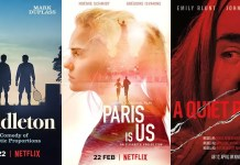©Netflix ©Paramount Pictures paddleton unser paris a quiet place film trailer time