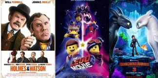 ©Sony Pictures ©Warner Bros. Entertainment ©Universal Pictures holmes und watson the lego movie 2 drachenzähmen leicht gemacht 3 kino trailer time