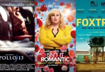 ©United International Pictures ©Netflix ©NFP Apollo 13 isnt it romantic foxtrot film trailer time