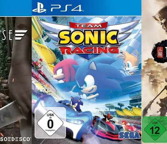 ©SOEDESCO ©SEGA Dollhouse Team Sonic Racing Total War Three Kingdoms Games Trailer Time