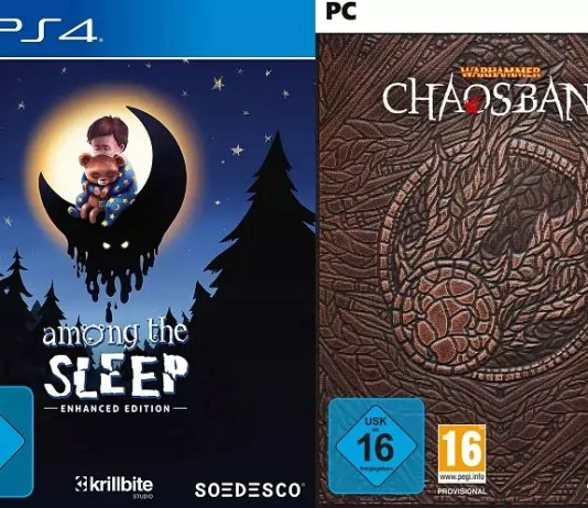 ©Soedesco ©Bigben Among the Sleep Warhammer Chaosbane Magnus Edition Games Trailer Time