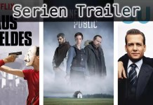 ©Netflix ©Entre Chien et Loup ©USA Network , Haus des Geldes , Public Enemy , Suits , Serien Trailer Time