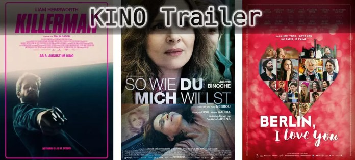 ©Wild Bunch ©Alamode Film ©Warner Bros , Killerman , so wie du mich willst , berlin i love you , kino trailer time.