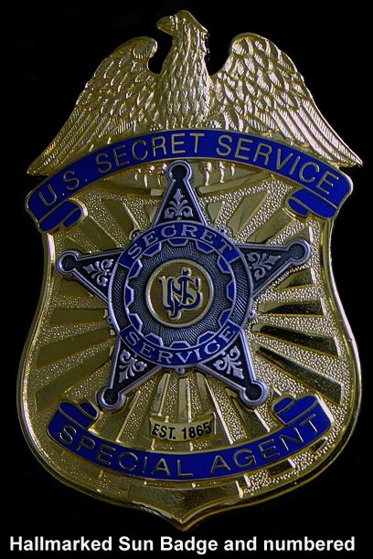 Secret Service badge DHS (YD)