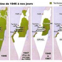 La Palestine, de 1946 à nos jours