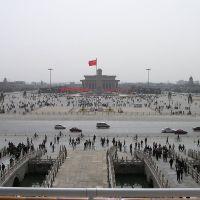 Juin 1989: massacre de la place Tian'anmen (Pékin, Chine)