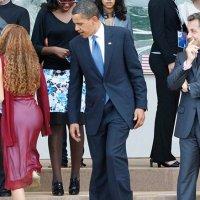 Obama et Sarkozy du même avis sur la couleur rouge?