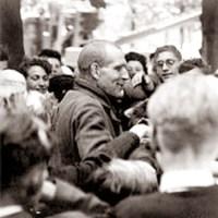 Lucien Hess, survivant du camp de concentration de Dachau
