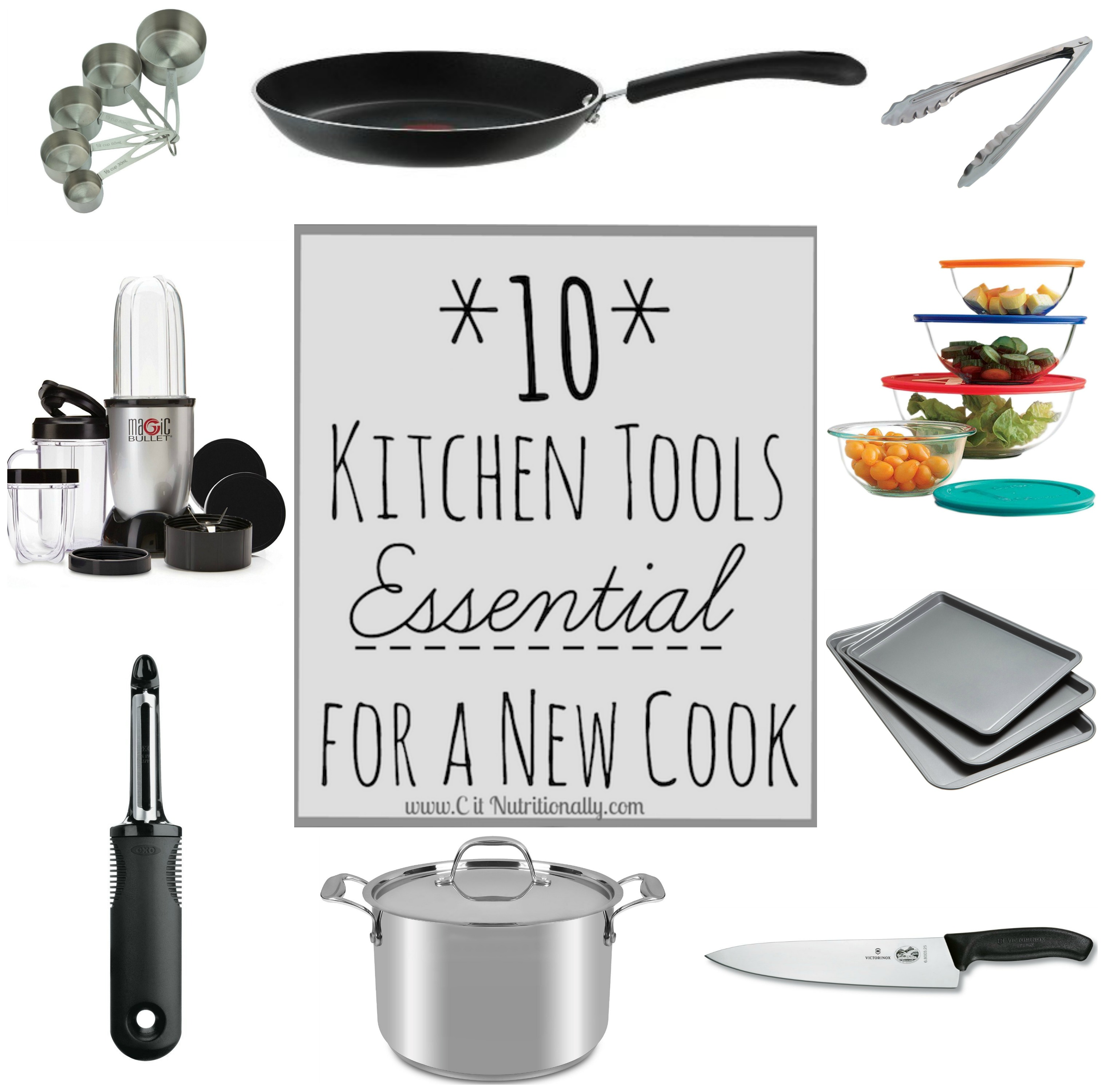 essential tools for the kitchen marble countertops 10 a new cook c it nutritionally
