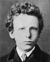 Vincent Van Gogh agé de 13 ans en 1866