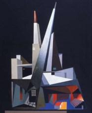 Spacio scenico polidimentionale, 1931