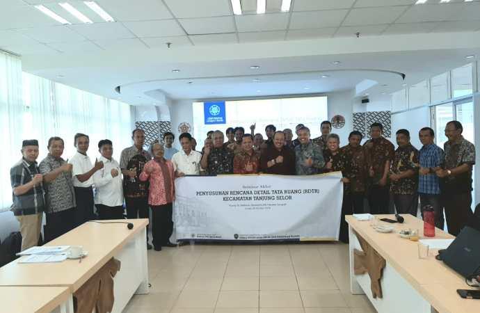Pemkab dan UGM Kerjasama Susun RDTR Tanjung Selor