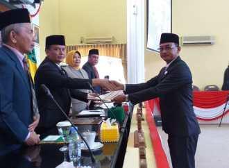DPRD Setujui Raperda Tentang Perubahan RPJMD Bulungan 2016-2021