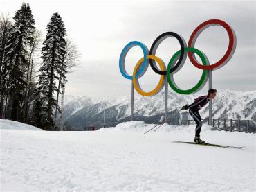 Crown Prince Frederik - Atlet Asal Denmark Sedang Melakukan Latihan. (Sumber : http://www.sochi2014.com/en/photos)