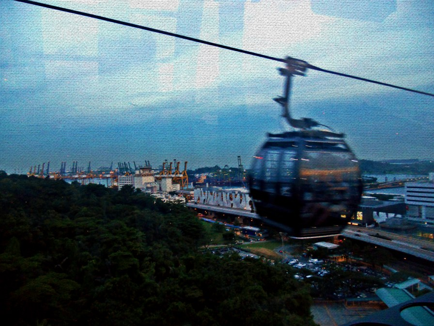 Cable Car on Mount Faber