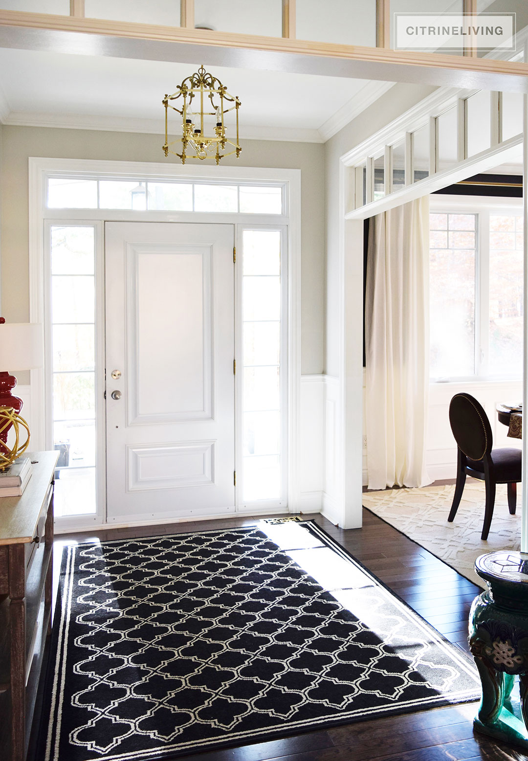 CITRINELIVING  NEUTRAL DINING ROOM UPDATES