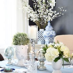 Pretty Living Room Sheer Curtains For Citrineliving - A Simple And Elegant Easter Tablescape
