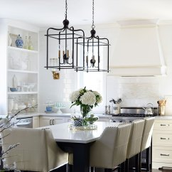 Lantern Lights Over Kitchen Island Cabinets Manufacturers Citrineliving - Spring In Full Swing Home Tour 2017