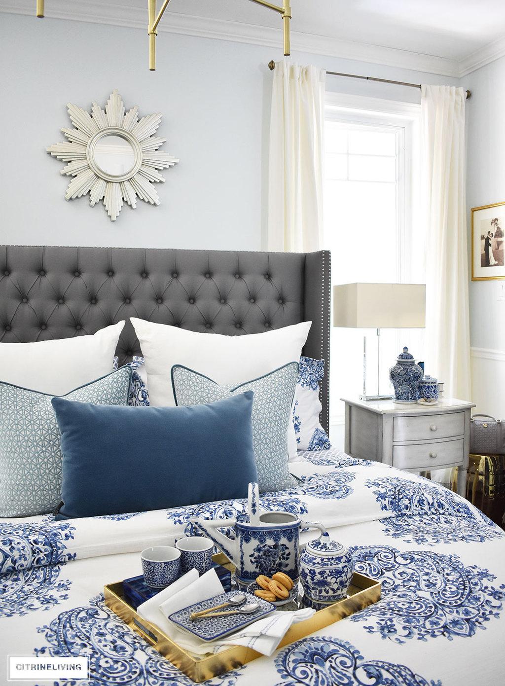 Starburst Mirror Over Bed  Mirror Ideas