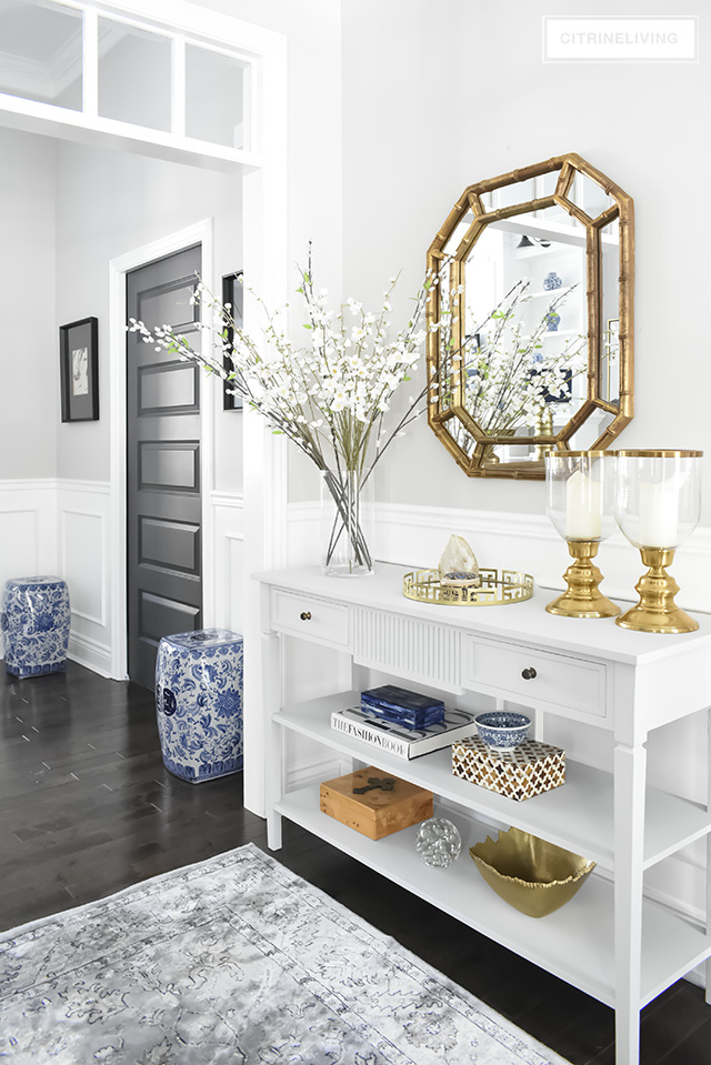 OUR LIGHT AND BRIGHT ENTRYWAY MAKEOVER