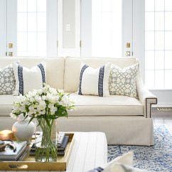 White Sofa Living Room Decor Modern Furniture Photos Reveal With New Sofas Stunning And Tailored Elegant Chic Ad Completely Transform This