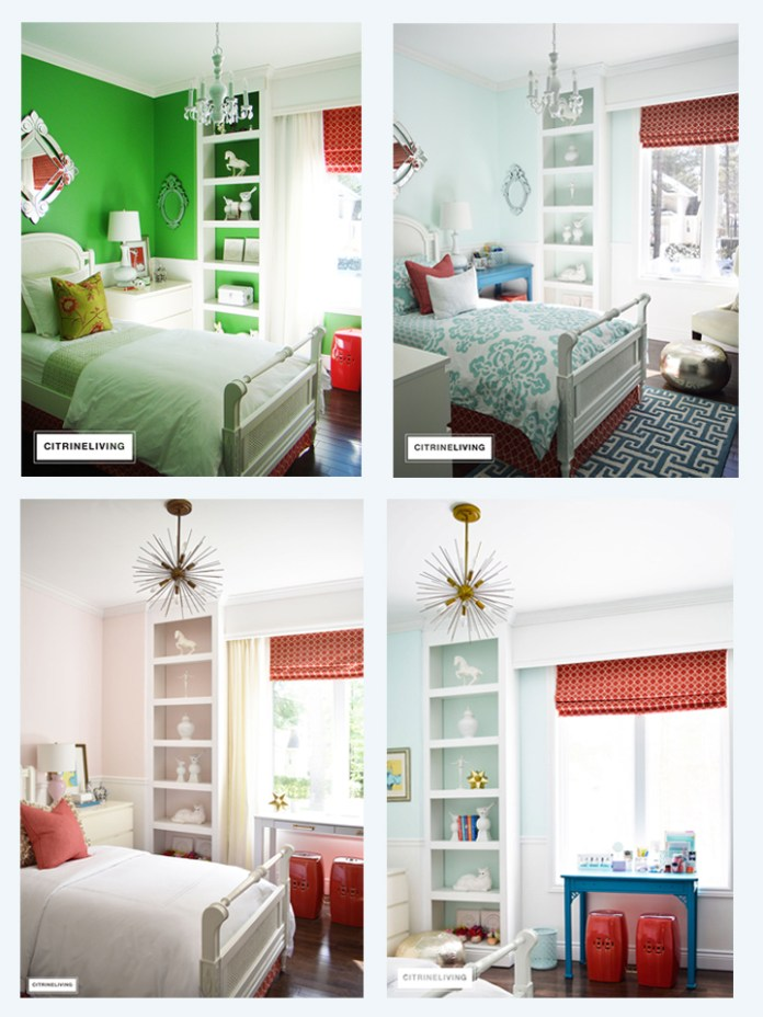 GLAM TEEN GIRL BEDROOM MAKEOVER REVEAL | On Ideal