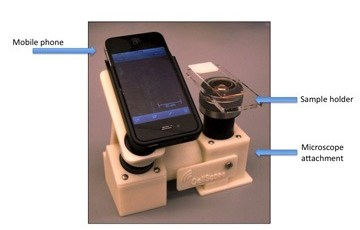 Cell phone + Microscope = CellScope