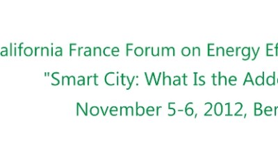 CITRIS Co-sponsoring Upcoming Workshop on Smart Cities