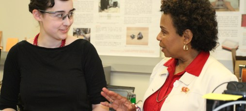 Rep Barbara Lee visits Invention Lab