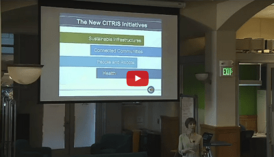 CITRIS Deputy Director Camille Crittenden presents at BIDS DP@C Series