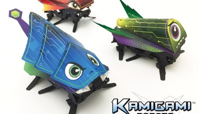Dash Robotics Launches Kamigami Robots on Kickstarter