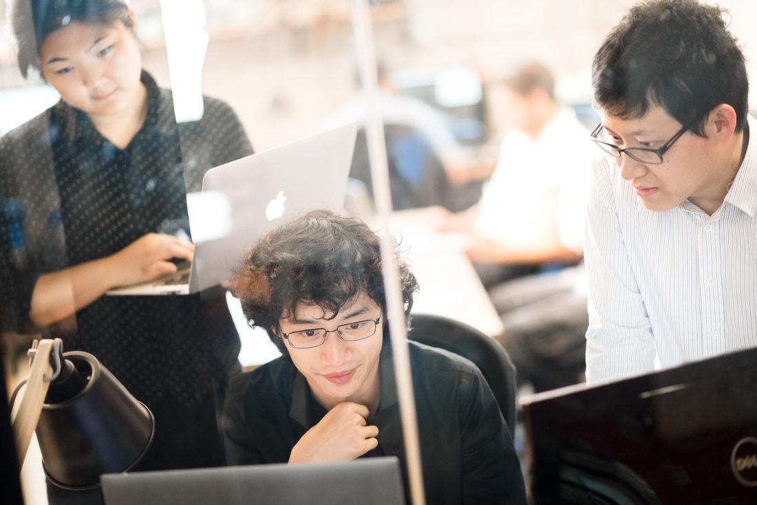 David Lu, Vivian BI, and Yuchen Shi of Clarity