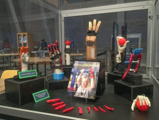 The Lawrence Hall of Science displayed prototypes of the Million Hands project this summer, with collaboration between the CITRIS Invention Lab.