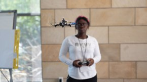 UC Davis launches Drone Academy for high-schoolers. Photo by Adriel Olmos