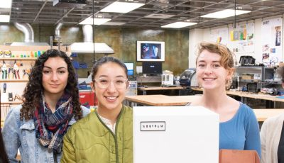 Nostrum Project: All-woman team constructs clever commentary in CITRIS Invention Lab