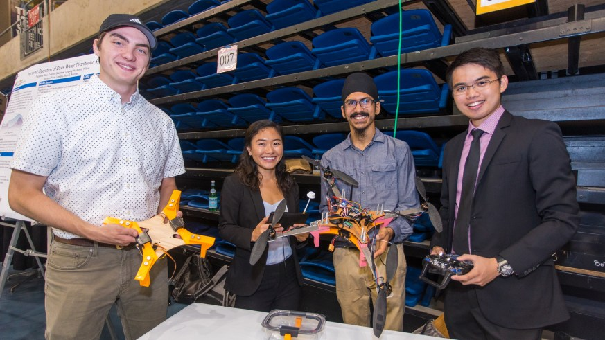 CITRIS Tech for Social Good at UC Davis 2019 - Medical Drone
