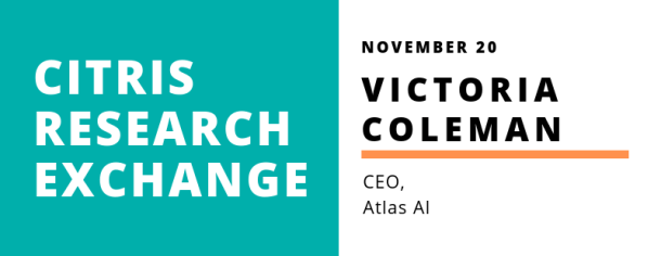 CITRIS Research Exchange - Victoria Coleman