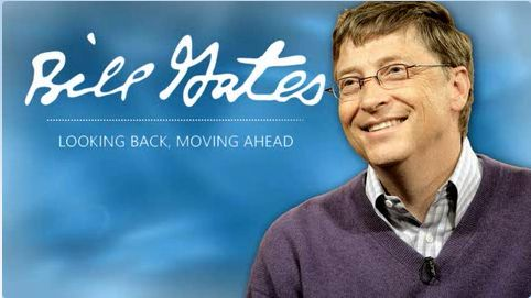 Bill Gates - Looking Back, Moving Ahead