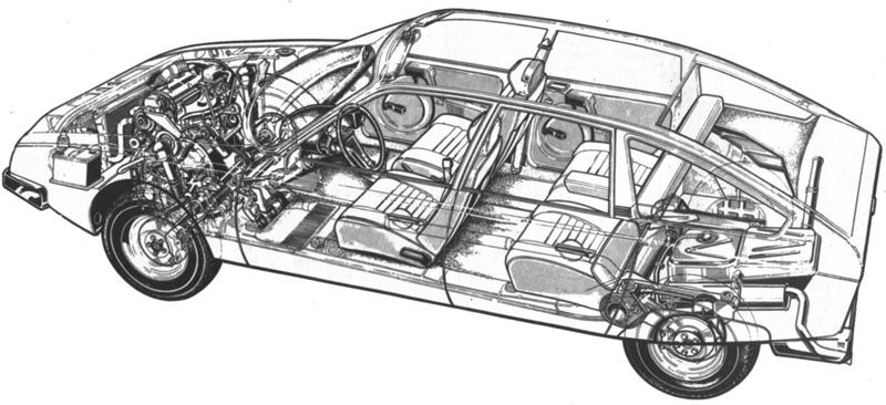 Citroën CX 2000/2200 1974 Autocar report