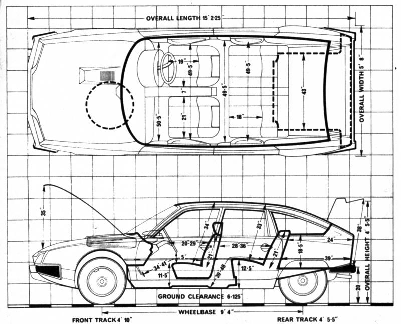 Citroën CX Pallas C-matic Injection 1978 Autocar Autotest