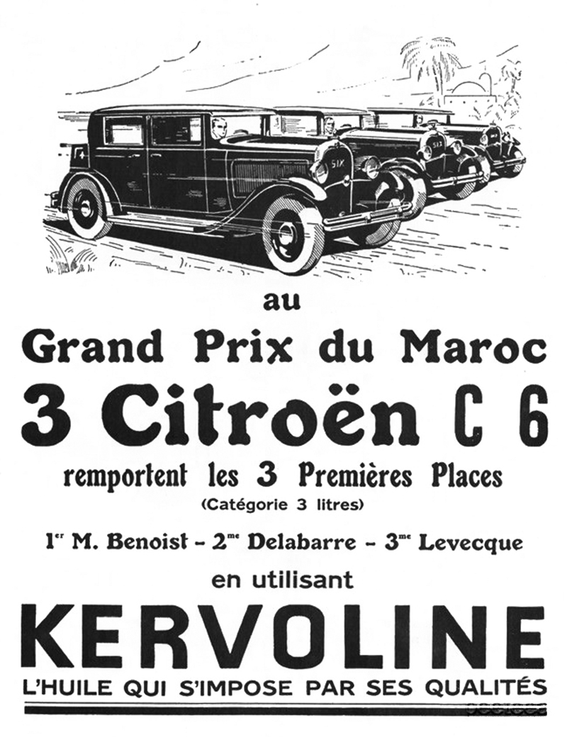 Citroën Types AC 4 and AC 6 (C4 and C6)