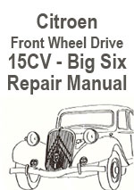 Citroen Traction-Avant 15CV Repair Manual